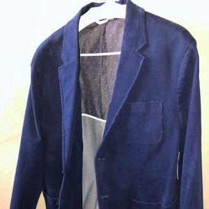 Old Navy Button up Blazer Jacket Blue